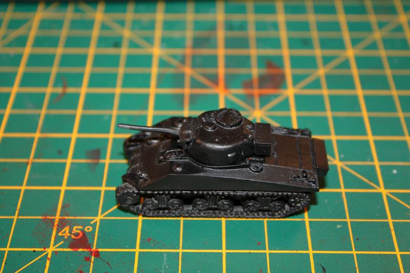 15mm Sherman Painting Tutorial | The model warrior